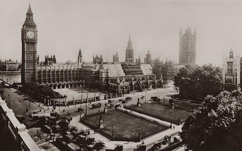 Základová fotografie zdarma na téma Anglie, Big Ben, budování parlamentu