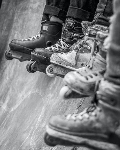 Free stock photo of army, black and white, foot