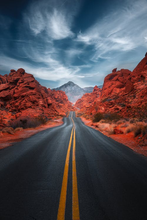 Free stock photo of arid, canyon, dawn