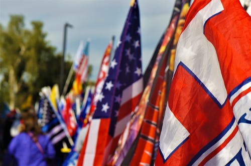 Immagine gratuita di americano, bandiere, briscola