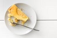food, plate, bakery