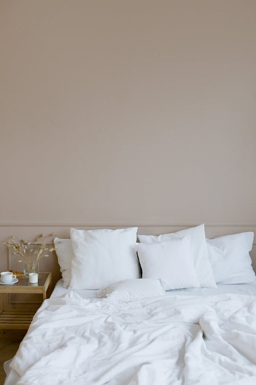 Free stock photo of apartment, bed, bedchamber
