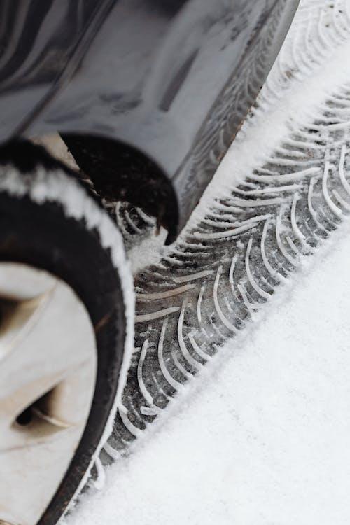 Close Up Shot of a Car Tire
