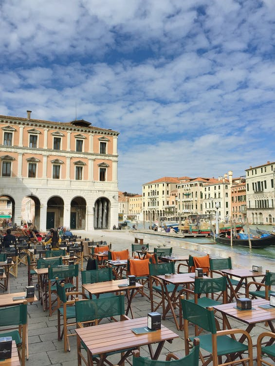 Free stock photo of boats, city, grand canal