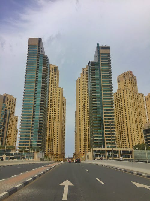 Základová fotografie zdarma na téma budovy, Dubaj, jbr