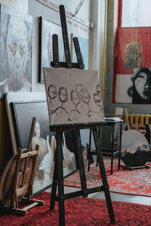 Darmowe zdjęcie z galerii z artystyczny, drewno, farba, farba akrylowa
