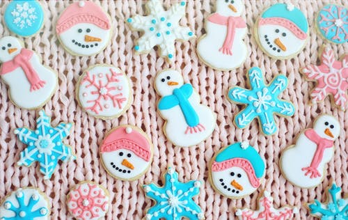 Ảnh lưu trữ miễn phí về bánh gừng, bánh quy, bông tuyết