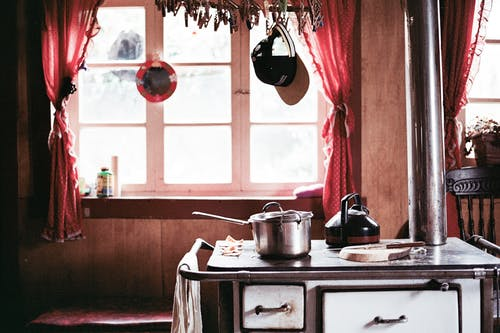 Free stock photo of calm, kitchen, messy, old house