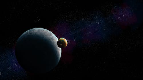 Free stock photo of planets, space art, texture