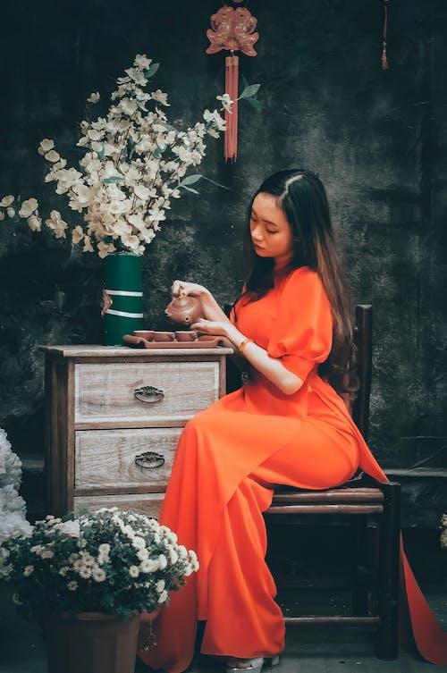 Free stock photo of adult, child, chinatown