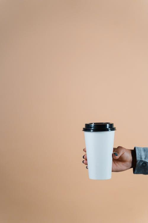 Free stock photo of art, blank screen, caffeine, cappuccino