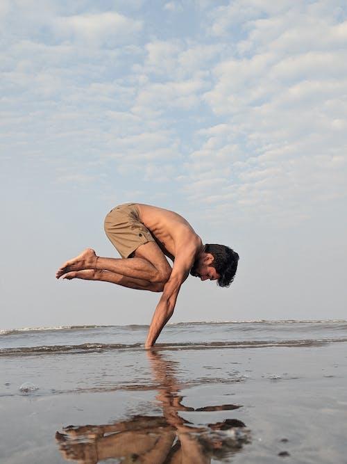 Free stock photo of balance, beach, fun
