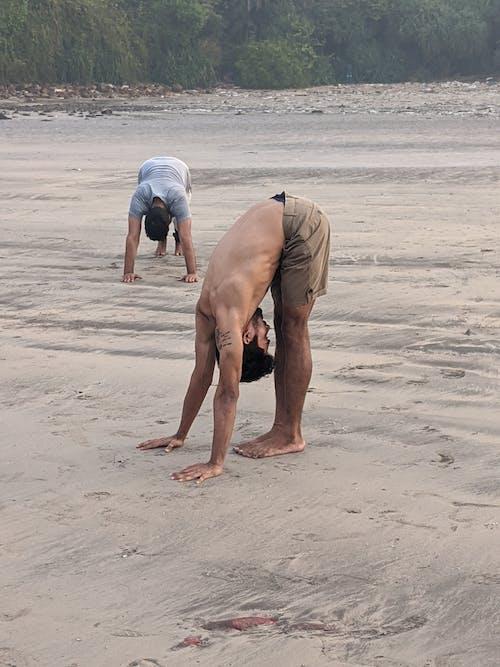 Free stock photo of beach, teaching, training
