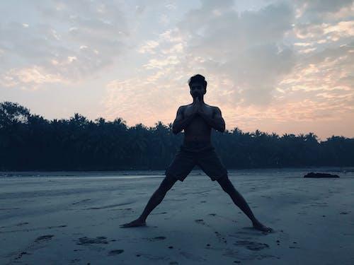 Free stock photo of beach, india, namaste