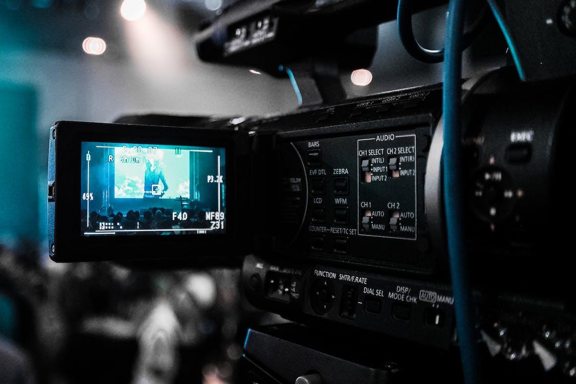 câmera, câmera de vídeo, câmera digital