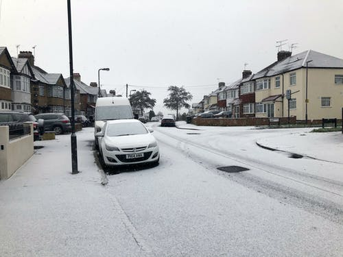 Безкоштовне стокове фото на тему «дорога, зима, Лондон, сніг»
