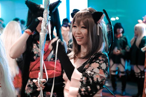 Female in Cosplay