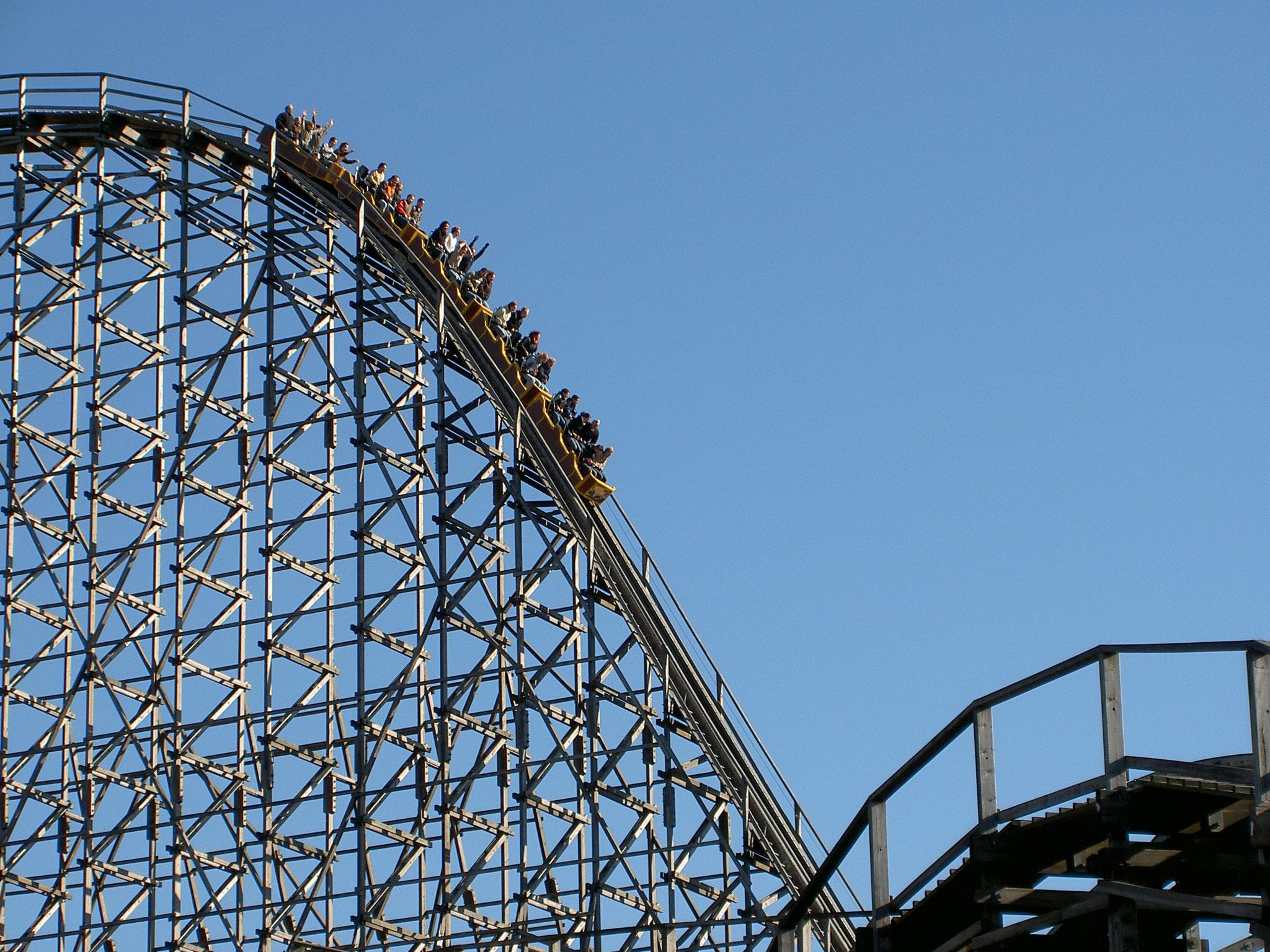 40+ great roller coaster photos · pexels · free stock photos