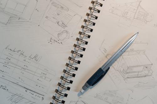 Free stock photo of architect, architecture, blueprint