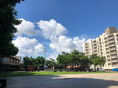 Free stock photo of cloud, mall, park