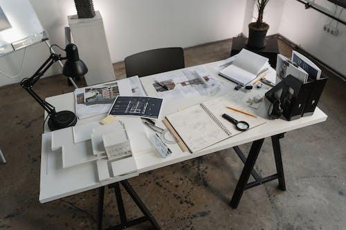 Free stock photo of architect, architecture, blueprints