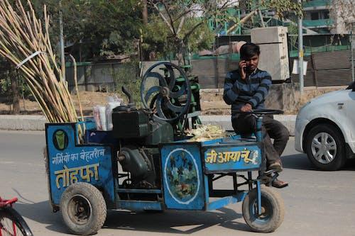 Free stock photo of classic vehicle, road, saler