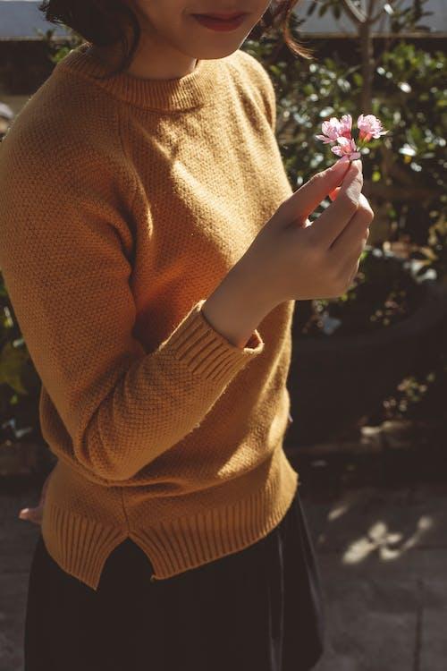 享受, 女孩, 手 的 免費圖庫相片