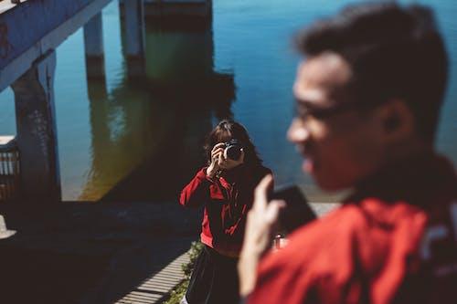 Darmowe zdjęcie z galerii z aparat, czas wolny, fotografowanie