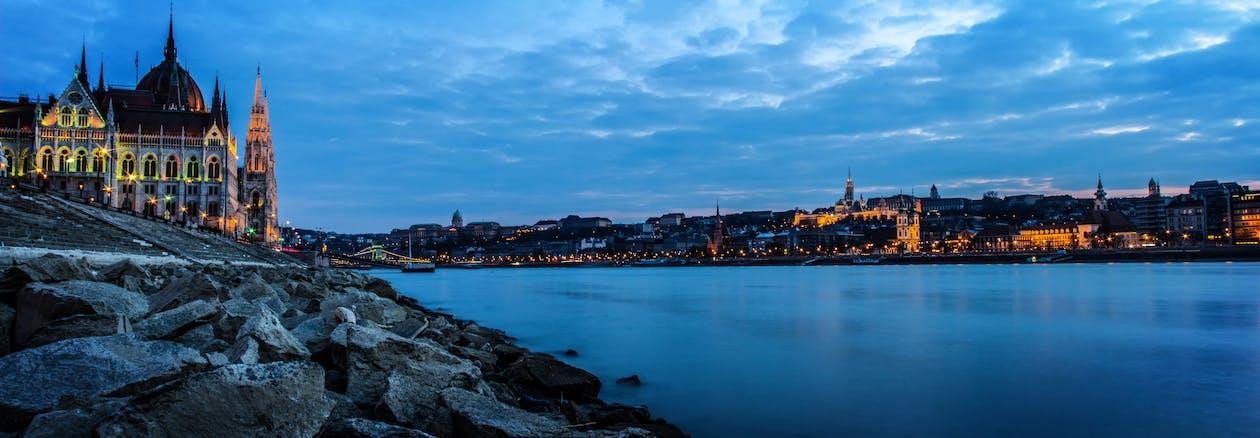Будапешт, вода, місто
