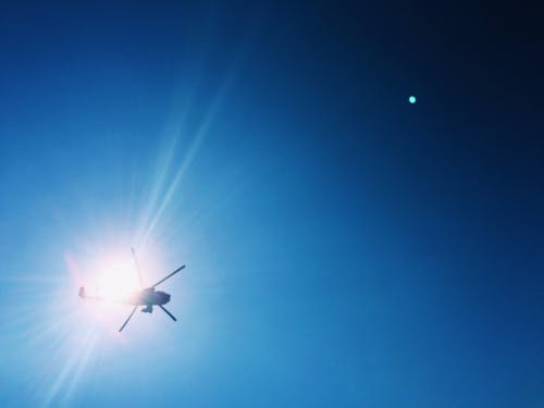 Fotos de stock gratuitas de azul, cielo, resplandor del sol