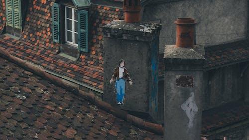 Gratis stockfoto met achtergelaten, architectuur, bakstenen, buitenkant