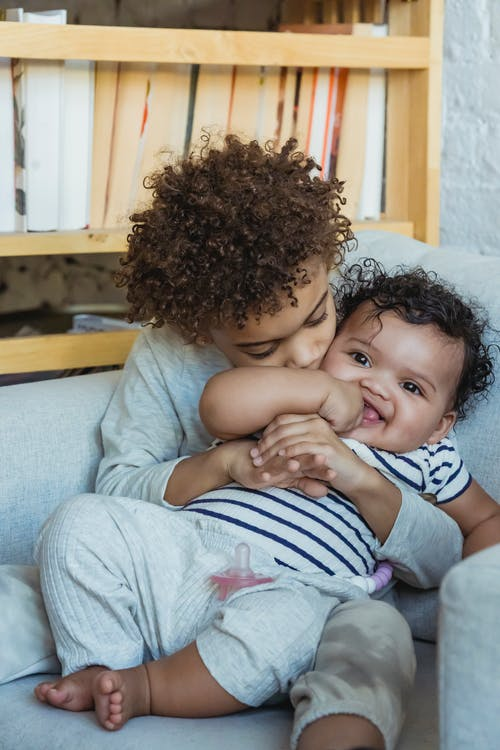 Free stock photo of affection, baby, child