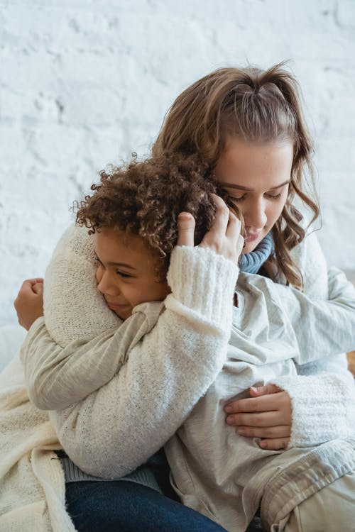 Free stock photo of affection, child, cold