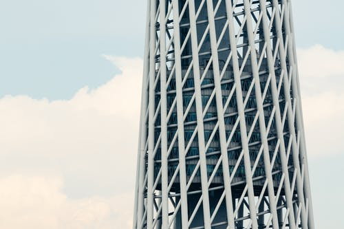 Free stock photo of airline, blue sky, canton tower
