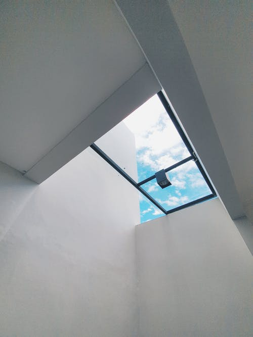 Immagine gratuita di architettura, azzurro, bianco