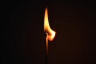 fire, macro, burning