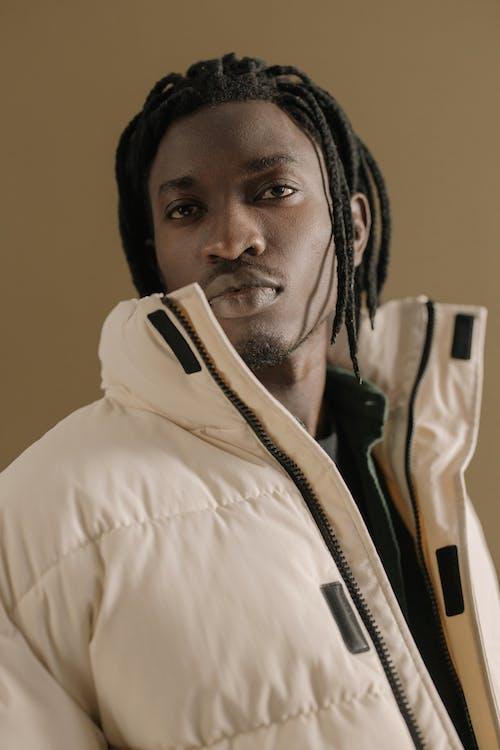 Ingyenes stockfotó afro zsinórra, álló kép, cipzár témában