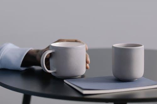 Photos gratuites de café, cahier, casser
