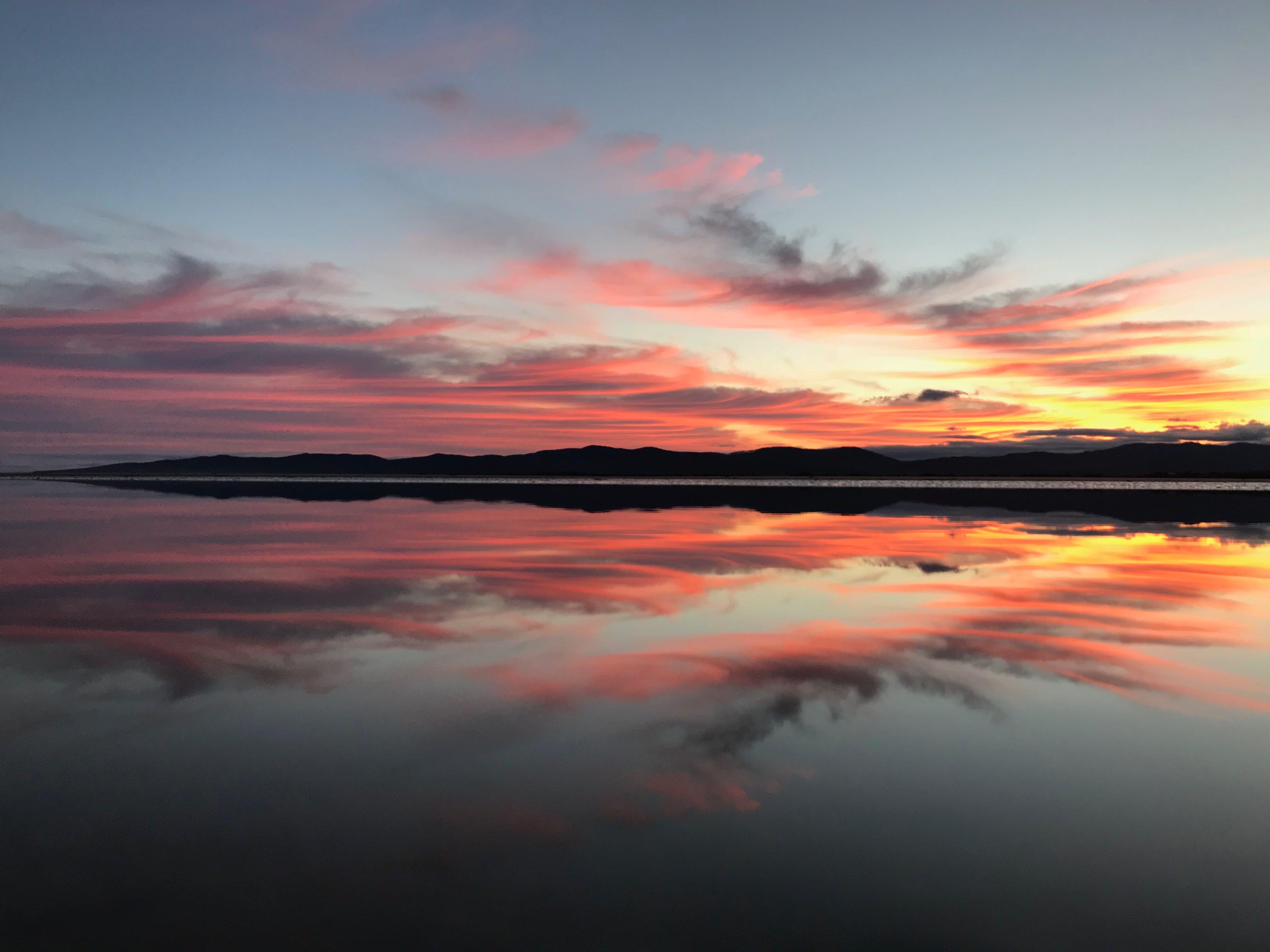 Free stock photo of glory, reflections, stunning, sunrise