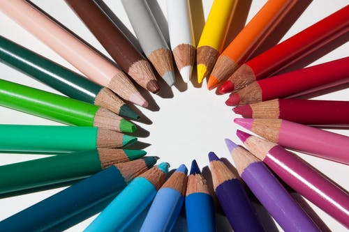Close-up Photography of Assorted-color Pencils