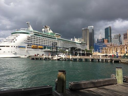 Free stock photo of cruise ship, sydney harbour