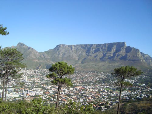 Free stock photo of Cape Town, city, signal hill
