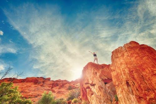 冒險, 勇敢, 天性, 天空 的 免费素材照片