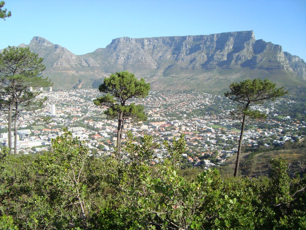 Free stock photo of Cape Town, city, mountain