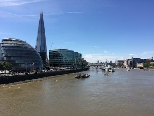 倫敦, 倫敦市政廳, 城市, 市中心 的 免費圖庫相片