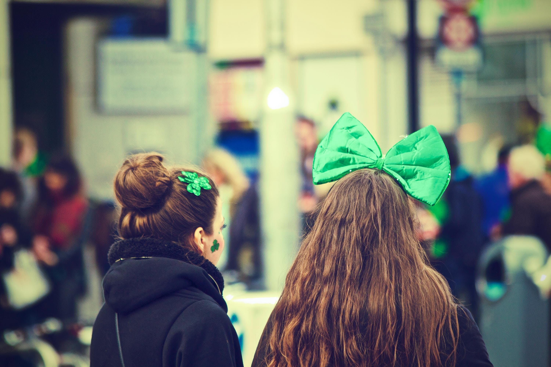 girls, ireland, Saint Patrick's Day