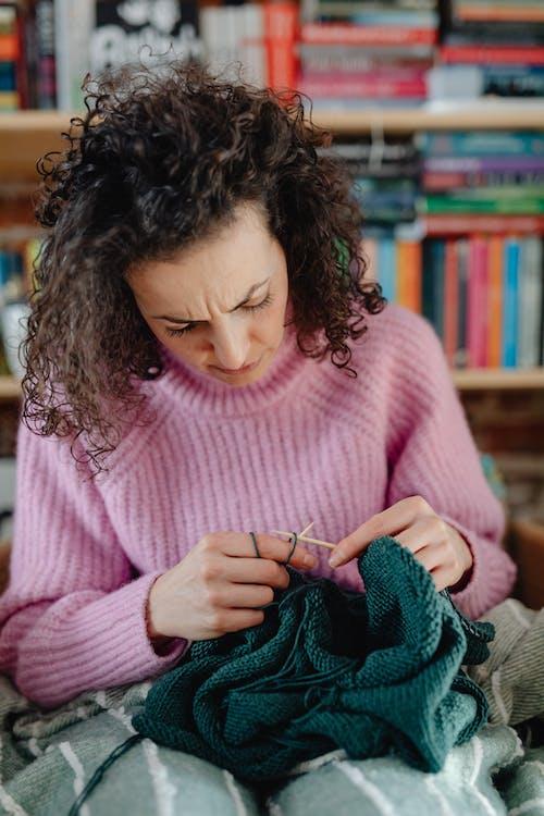 Fotos de stock gratuitas de afición, artesanía, calceta
