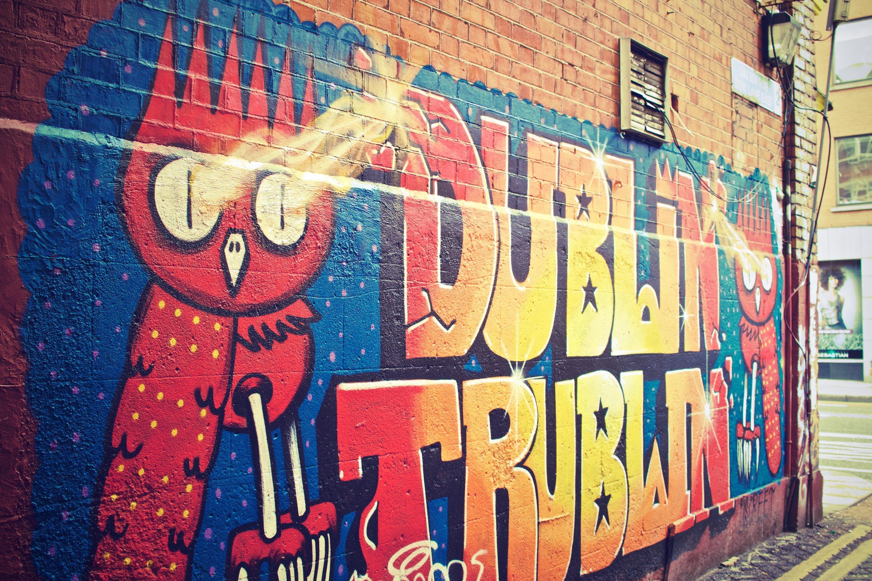 Graffiti on Shingle Wall