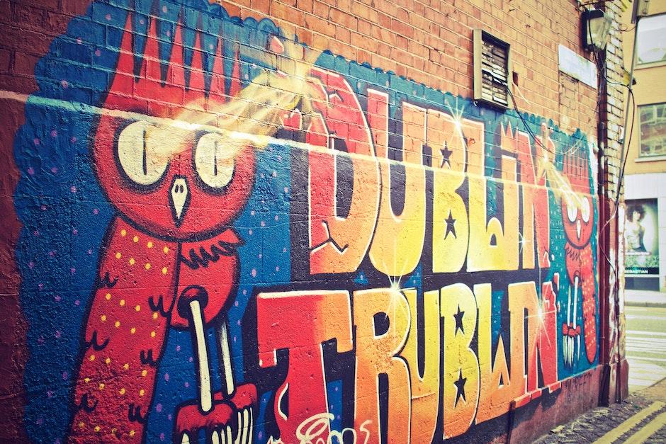 art, dublin, graffiti