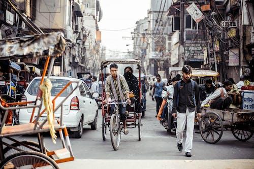 Ảnh lưu trữ miễn phí về Ấn Độ, bận, burqa, chandni chowk